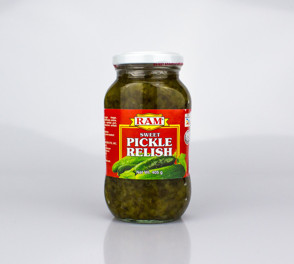 Ram Sweet Pickle Relish 405 G Phil Food