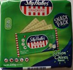 SkyFlakeS Crackers Onion & Chives Flavor
