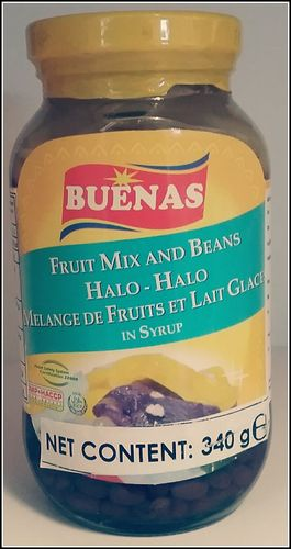 Buenas Halo - Halo Fruit Mix and Beans