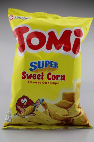 Tomi Super Sweet Corn Flavored Corn Chips (110 g)