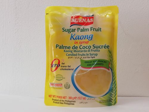 Sugar Palm Fruit- KAONG in Syrup White (360g)